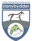 Llanybydder community council logo